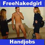 cum in hand hetero handjob clips